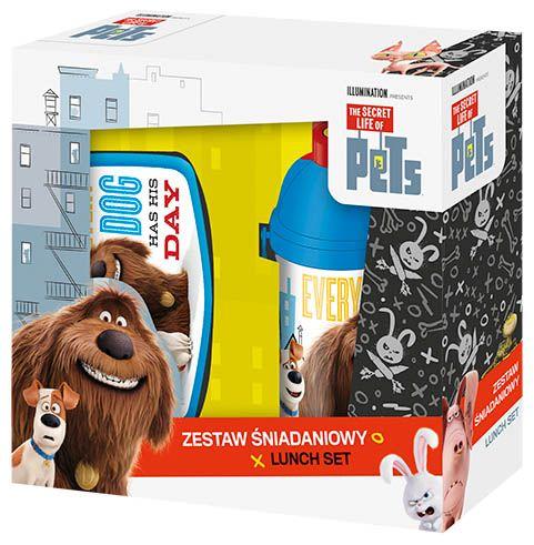 Set bidonas apa+cutie sandwich,Pets