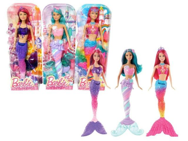 Papusa Barbie,Sirena,DHM45