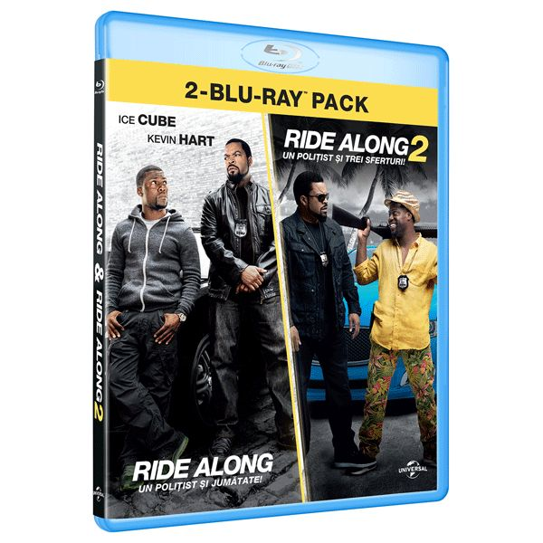 BD: RIDE ALONG 1& RIDE ALONG 2...