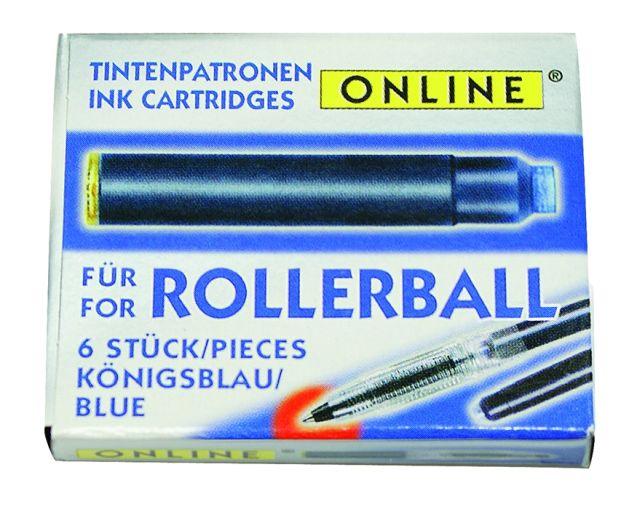 Patroane Online,roller,12buc,albastre