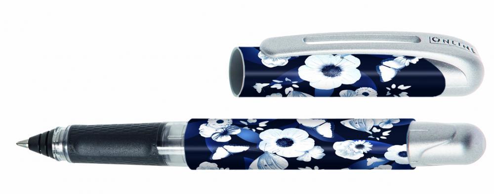 Roller Online College,0.7mm,White Flower