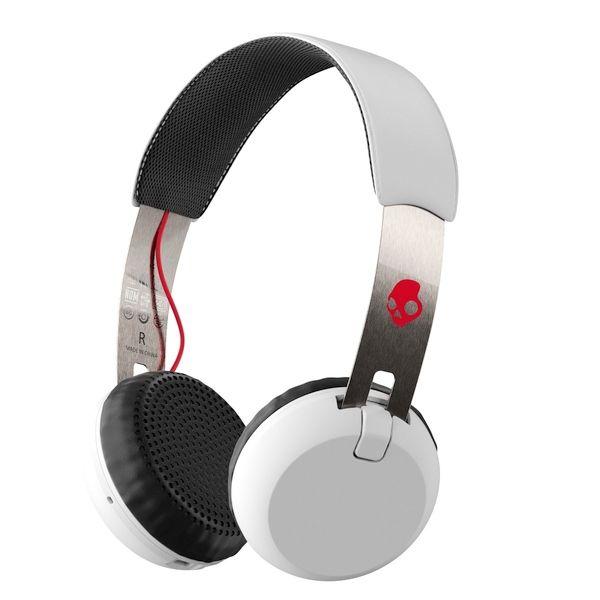 Casti Skullcandy Grind Bt Wireless White/Black/Red