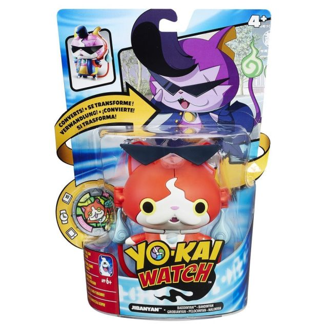 Figurina convertibila cu medalie,Yo-Kai