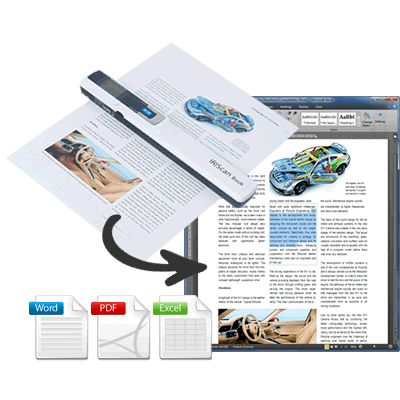 Scanner portabil IRIScan Book 3