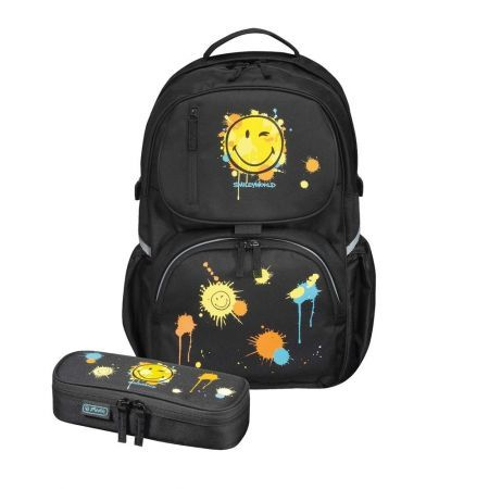 Rucsac Be.Bag Cube,Smiley,echipat