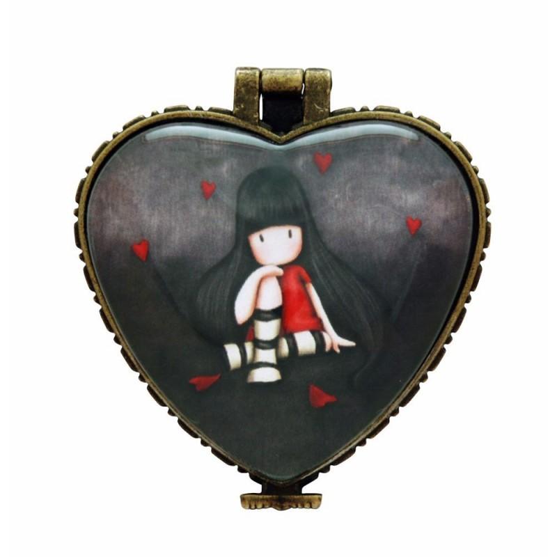 Casete bijuterii 4.5x4cm,ceramica,The Collector