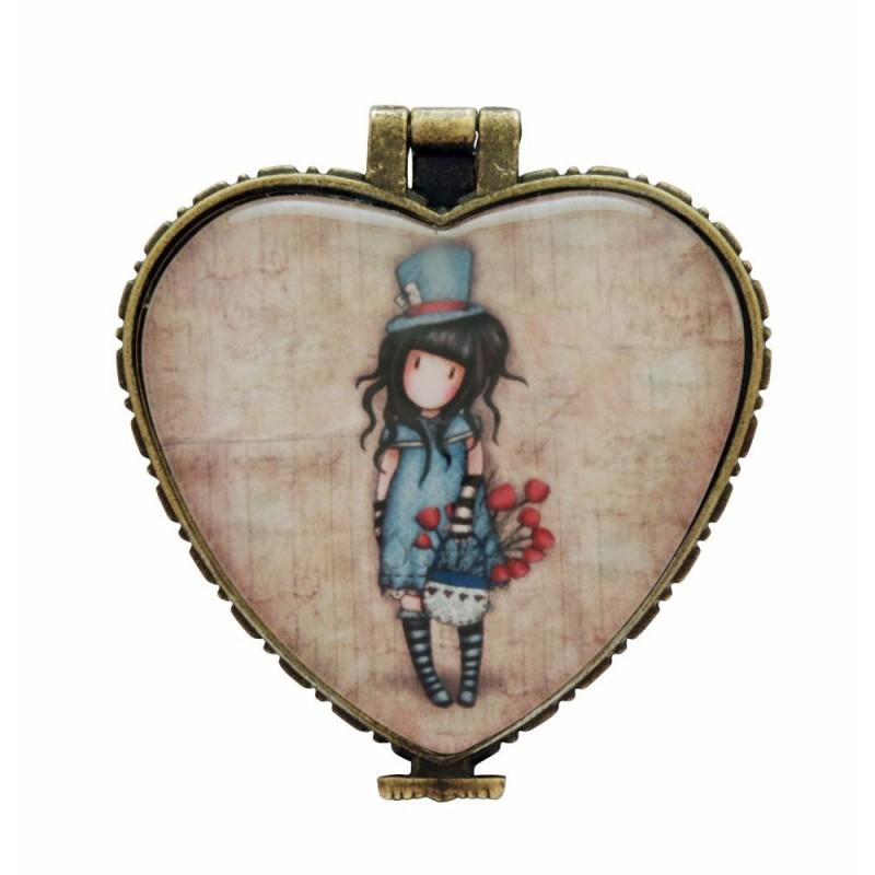 Casete bijuterii 4.5x4cm,ceramica,The Hatter