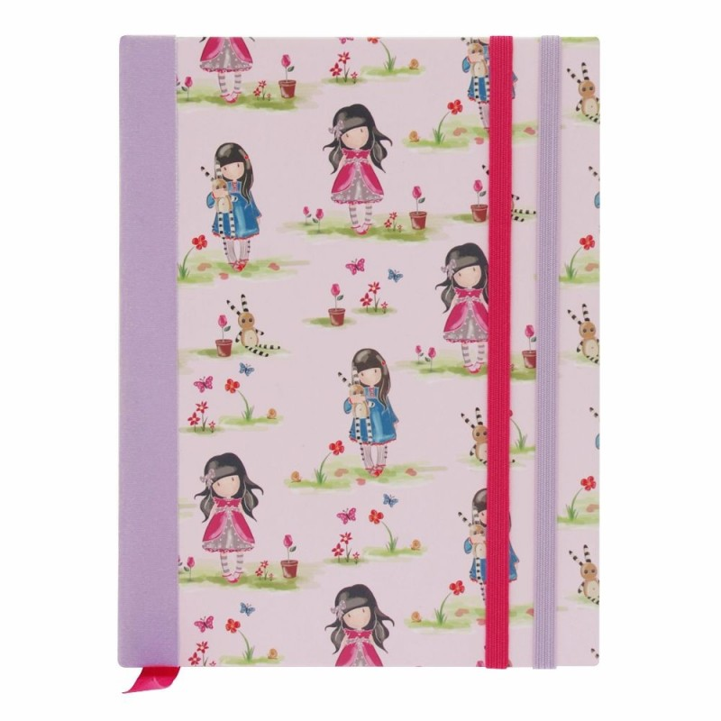 Agenda 17x12cm,cu elastic,Pastel Ladybird