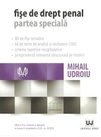 FISE DE DREPT PENAL. PARTEA SPECIALA, ED. A III-A