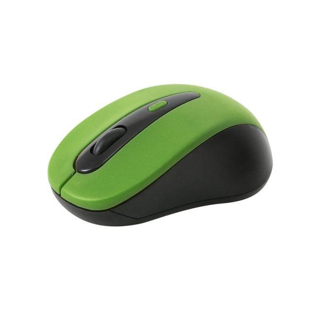 Mouse OM-416, 1600DPI, Wireless, Verde, Omega