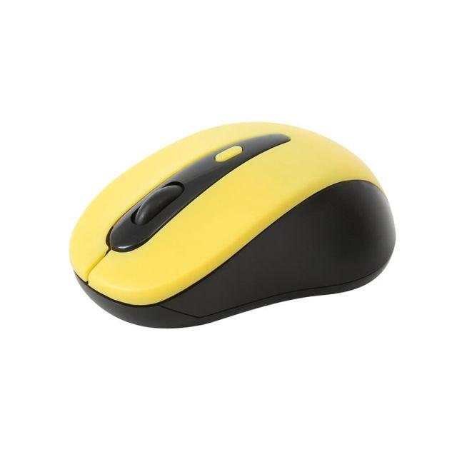 Mouse OM-416, 1600DPI, Wireless, Galben, Omega
