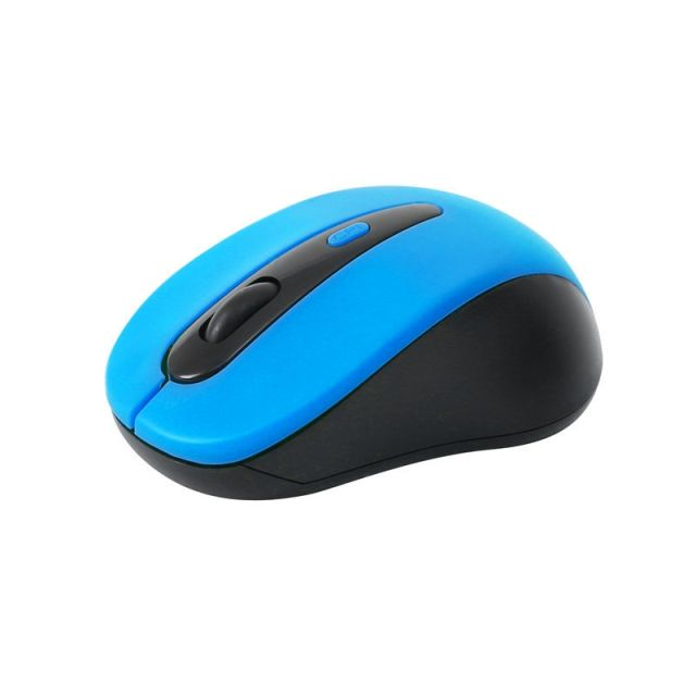 Mouse OM-416, 1600DPI, Wireless, Albastru, Omega