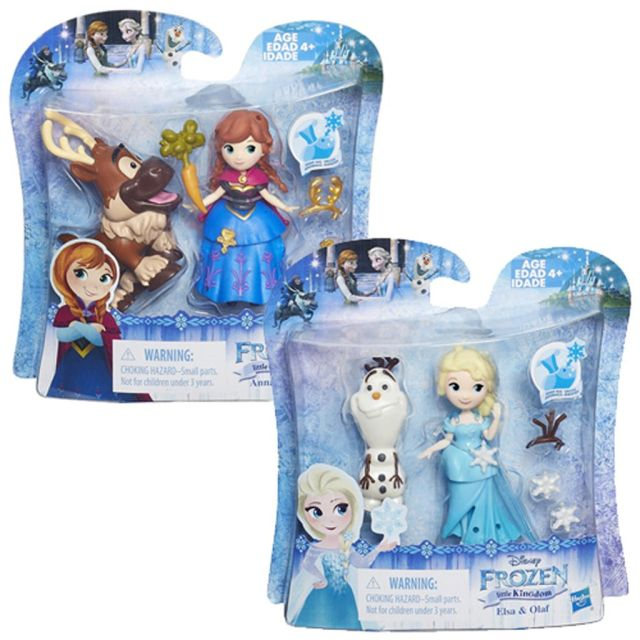 Papusa Disney,Frozen mini,cu prieten