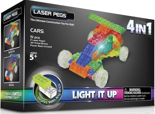 Laser pegs,Masina,4in1,300pcs
