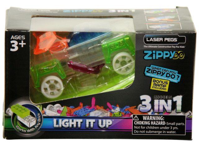 Laser pegs,3in1,Zippy do