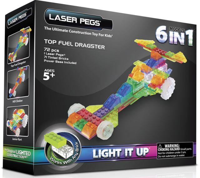 Laser pegs,Masinuta 6in1,130pcs