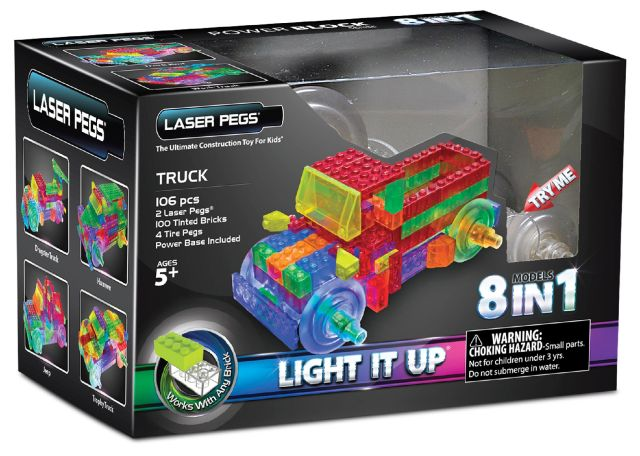 Laser pegs,Camion,8in1,1430pcs