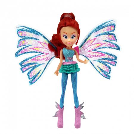 Papusa Winx Mini Doll Sirenix,Bloom