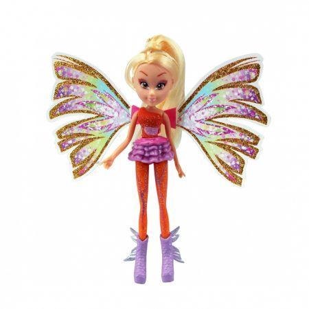 Papusa Winx Mini Doll Sirenix,Stella