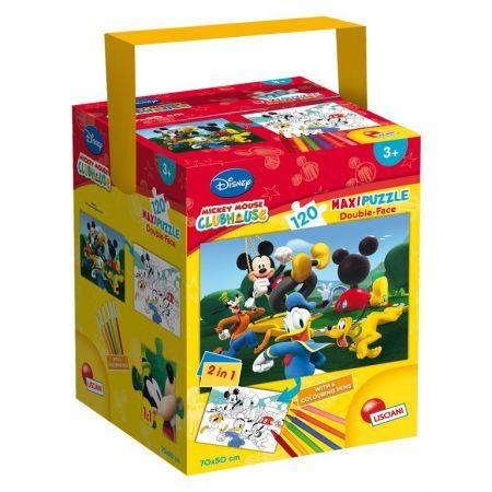 Puzzle in cutie,Mickey,120pcs+6carioci