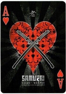 Carti de joc-Samurai V2 (Black) Marfuri