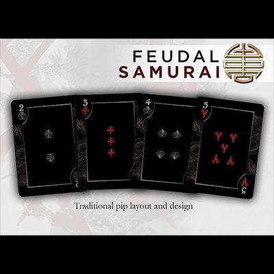 Carti de joc-Bicycle Feudal SamuraiMarfuri