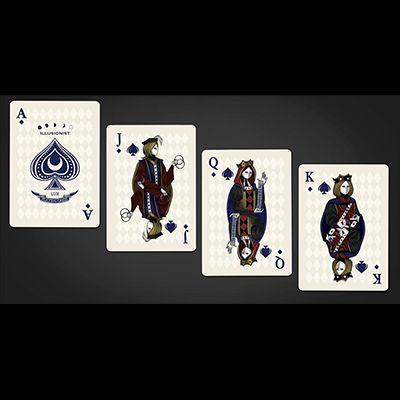 Carti de joc-Bicycle Illusionist (Dark) Marfuri