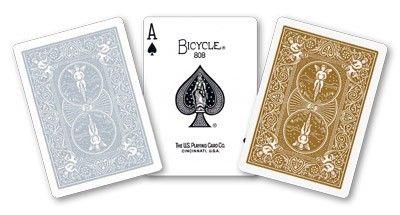 Carti de joc-Cards Bicycle Gold And Silver Back Marfuri