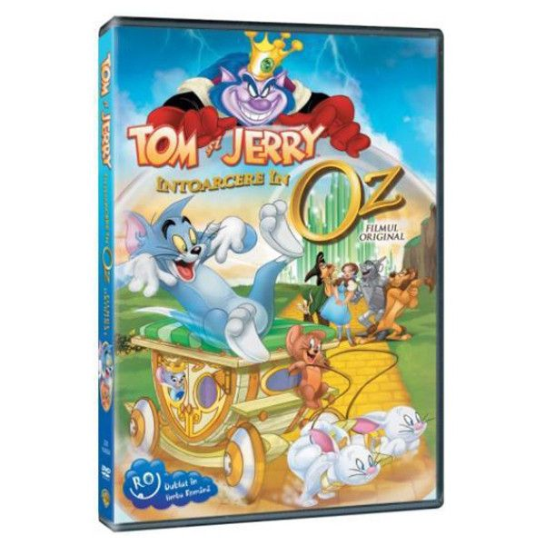 TOM & JERRY: RETURN TO OZ - INTOARCERE IN OZ
