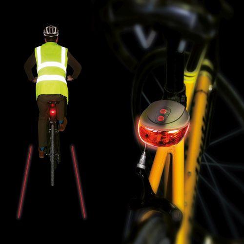 Semnalizator laser pentru bicicleta