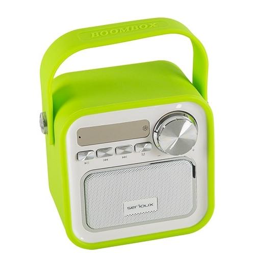 Boxa bluetooth Serioux, portabila, Joy, 5W, verde