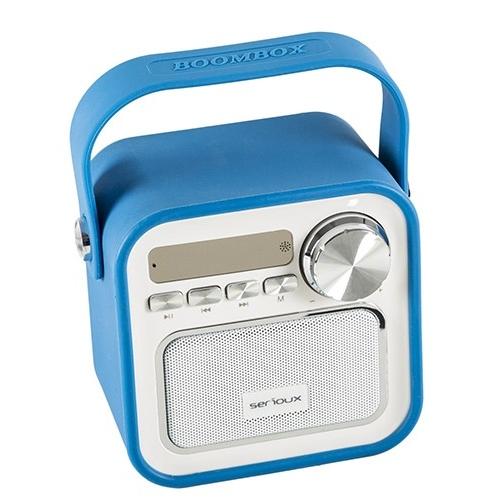Boxa bluetooth Serioux, portabila, Joy, 5W, albastra