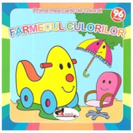 FARMECUL CULORILOR - PRIMA MEA CARTE DE COLORAT