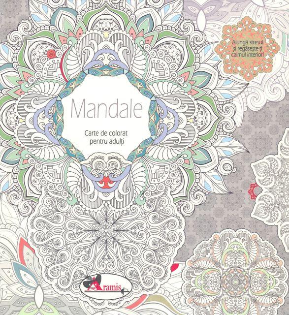 MANDALE- CARTE DE COLORAT PT.ADULTI