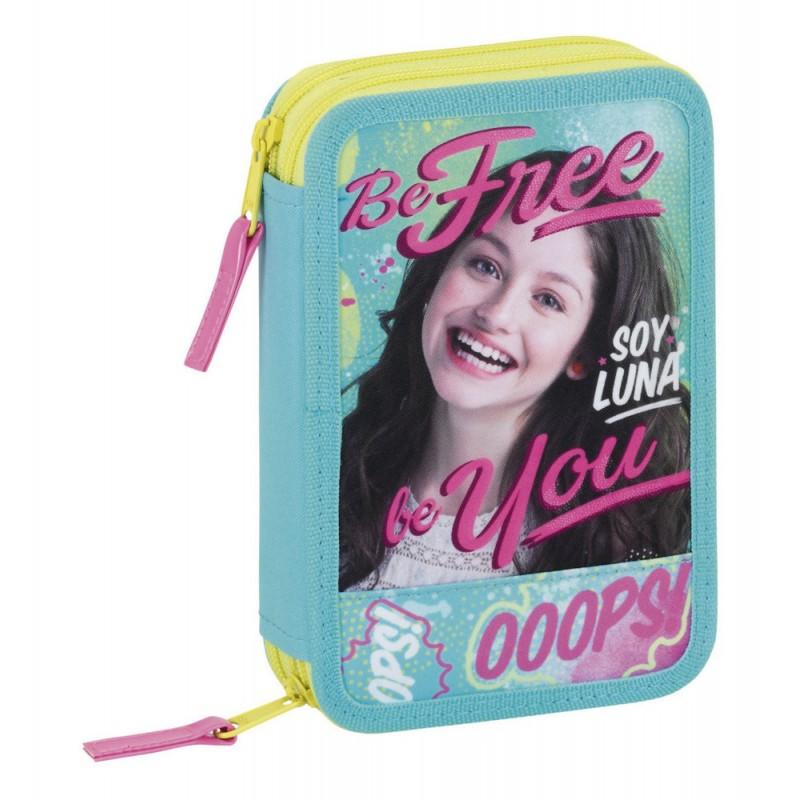 Penar dublu echipat,34pcs,Soy Luna,Be Free