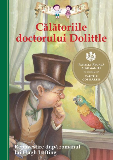 CALATORIILE DOCTORULUI DOOLITTLE. REPOVESTIRE DUPA ROMANUL LUI HUGH LOFTING