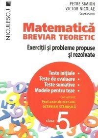 MATEMATICA CL 5 BREVIAR