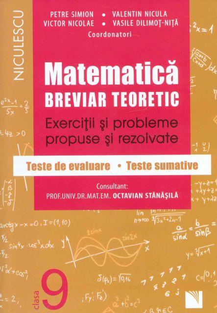 MATEMATICA CL 9 BREVIAR