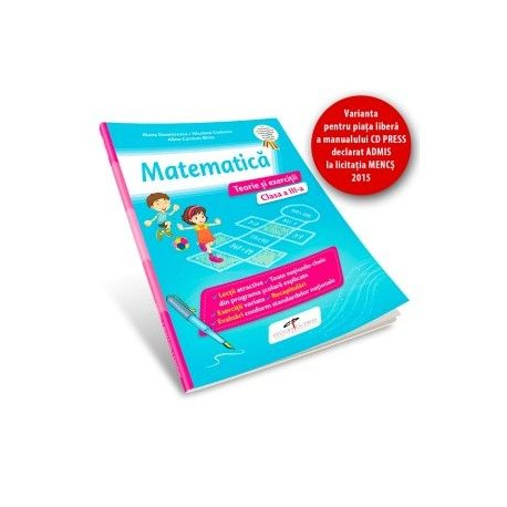 MATEMATICA CAIET CL III A.TEORIE SI EXERCITII