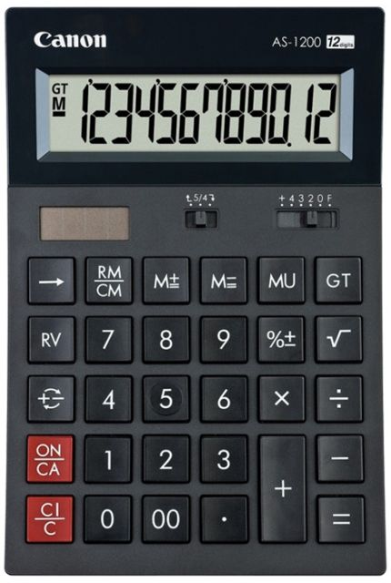 Calculator birou Canon AS-1200,12 digiti