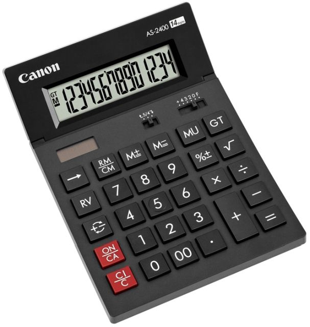 Calculator birou Canon AS-2400,14 digiti
