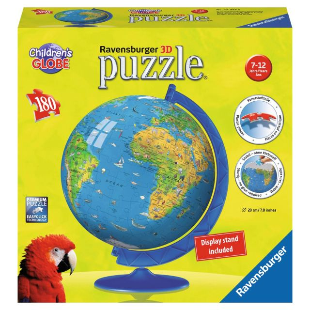 Puzzle 3D globul lumii,180pcs
