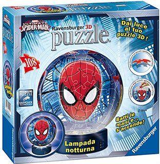 Puzzle 3D luminos,Spiderman,108pcs