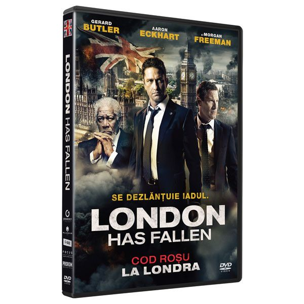 LONDON HAS FALLEN  - COD ROSU...