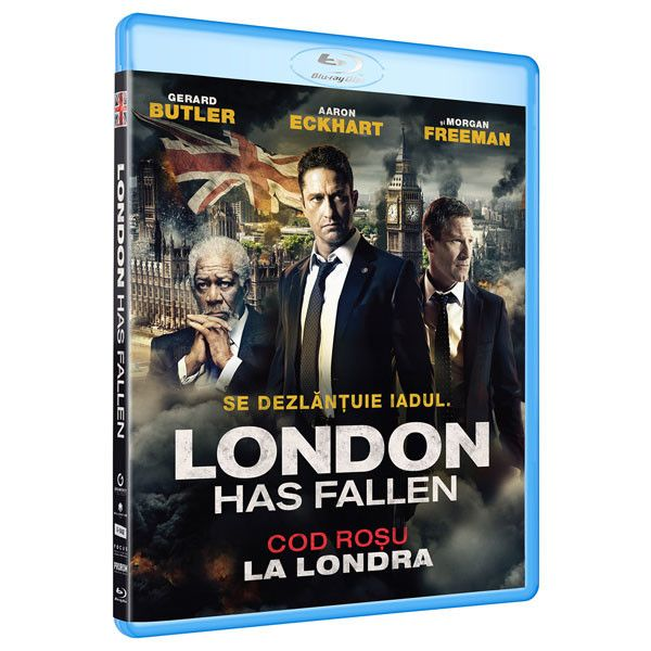 BD: LONDON HAS FALLEN  - COD ROSU LA LONDRA
