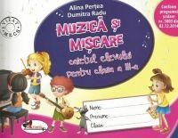 MUZICA SI MISCARE - CAIET PENTRU CLASA A III-A