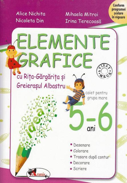 ELEMENTE GRAFICE 5-6 ANI RITA SI GREIERASUL NOU