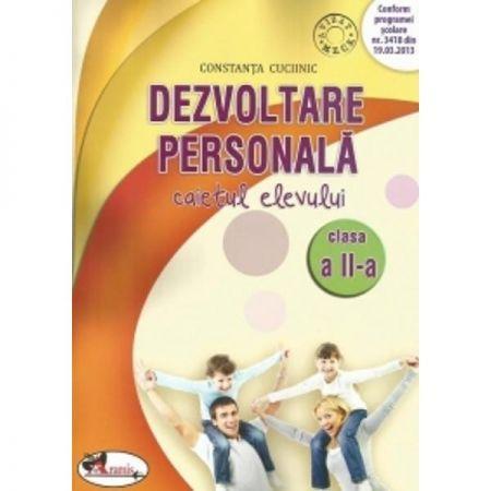 DEZVOLTARE PERSONALA - CAIET PENTRU CLASA A II-A