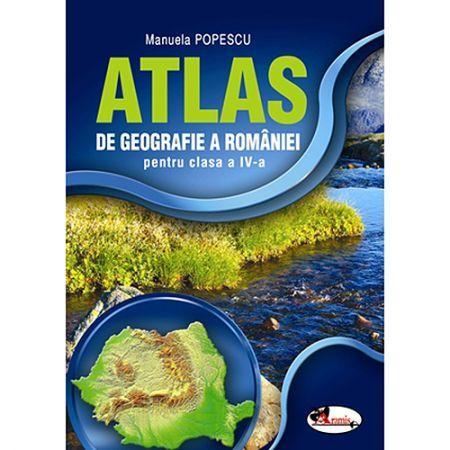ATLAS 2016 GEOGRAFIA ROMANIEI CLS IV