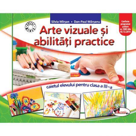 AVAP - ARTE VIZUALE SI ABILITATI - CAIET CLS. A III-A